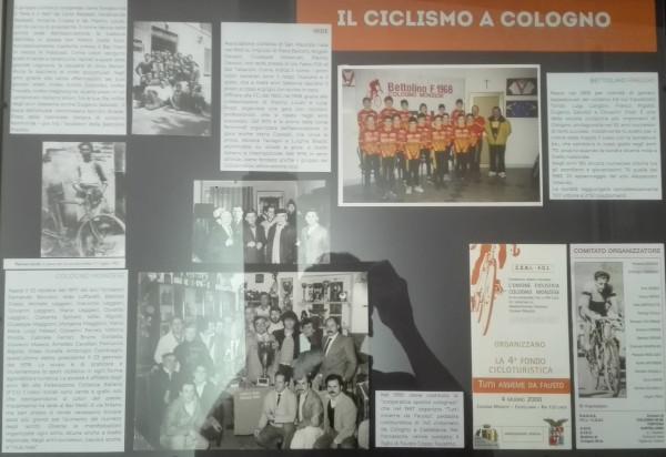Ciclismo a Cologno ieri e oggi