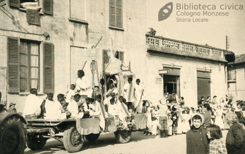 Carnevale a Cologno Monzese anni '50 – 70