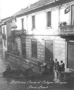 Piazza XXVIII ottobre esondazione del 5 novembre 1937