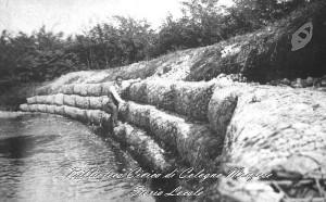 Ripari sull'argine sinistro del fiume Lambo 1937