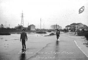 Esondazione del 1964 via Enrico Toti