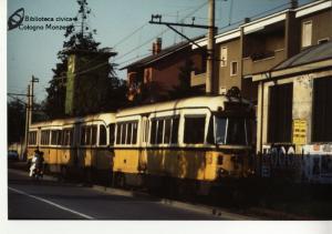Ultimi viaggi del tram a Cologno Monzese (1981)