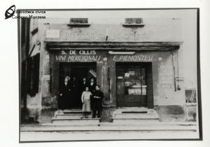 Trattoria dei Cacciatori in corso Roma (anni '60)