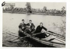 Gita in barca al Lago Tana (anni '50 '60)