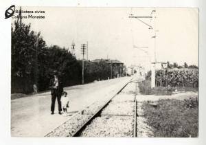 Vecchio stradone, via Milano (anni '60)