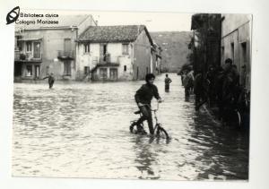 Esondazione fiume Lambro a San Maurizio al Lambro (anni '60 '70)