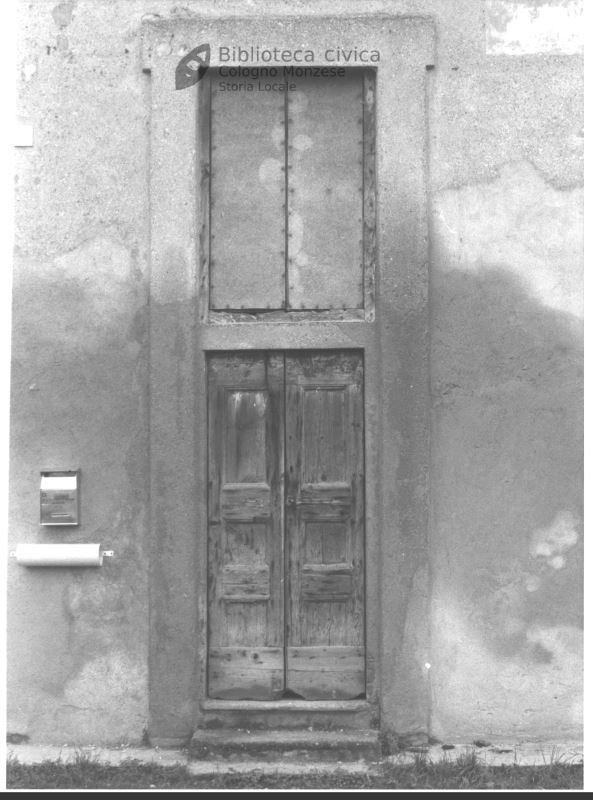 Porta d'ingresso residenza nobiliare (1990)