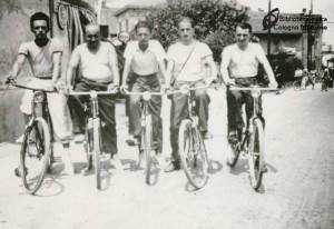 """il giorno di ferragosto del 1939, la compagnia dei """"buletari"""""""